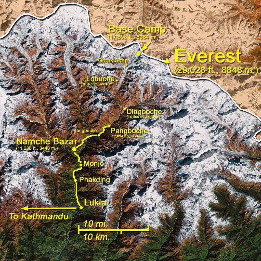 Map: Pangboche