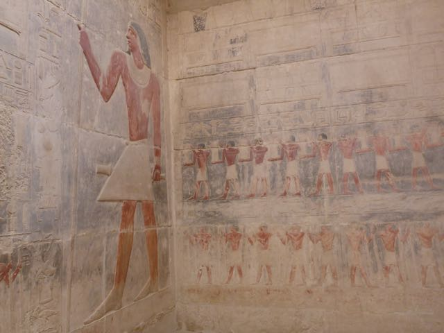 Hieroglyphics in Tombs